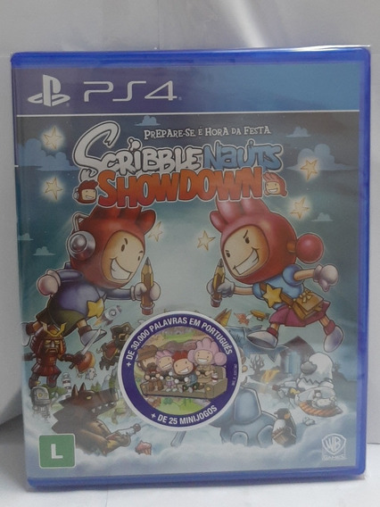 Jogo Ps4 Scribble Nauts Showdown Midia Fisica Original Novo