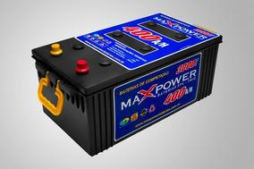 Bateria Max Power 400ah Alto Desempenho Estacionaria Maxpowe