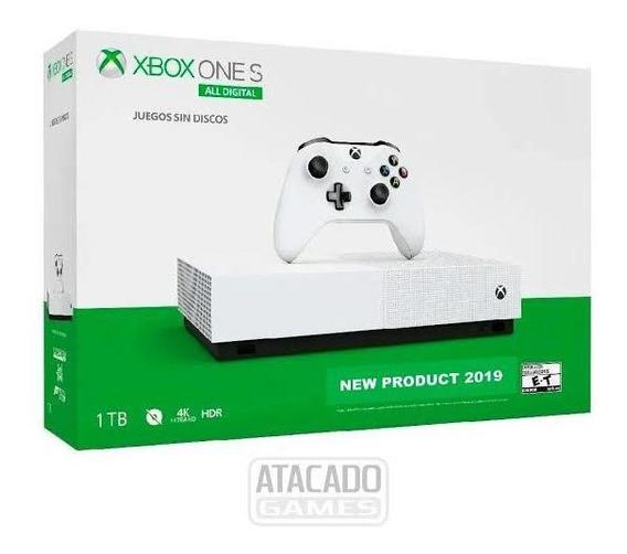 Xbox One S 1tb + 1 Controle + 35 Jogos Originais