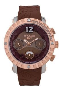 Mulco Nuit Lace Mw5-1622-033 Cronógrafo Reloj Hombre Mujer