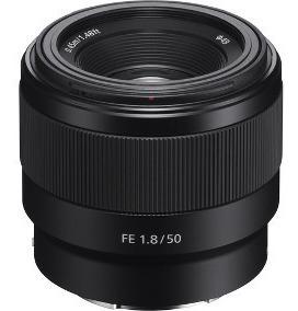 Lente Sony Nacional 50mm F1.8 E-mount Full Frame A7 A7s A7r