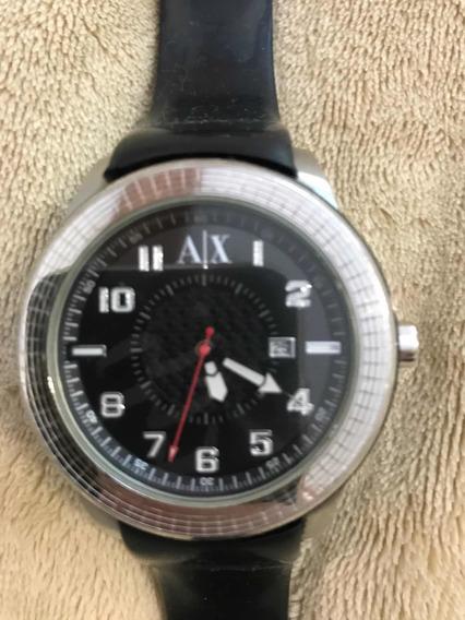 Relógio Armani Exchange Uax1071 Preto