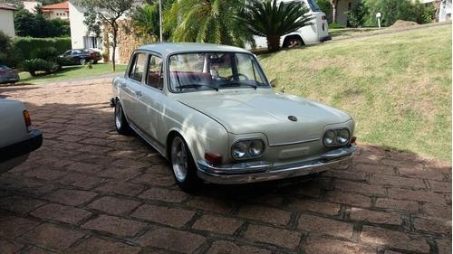 Volkswagen Ze Do Caixão Vw 1600 4 Portas
