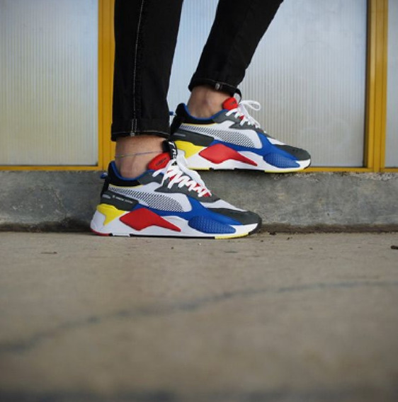 Zapatillas Puma Rs-x Toys White Youth