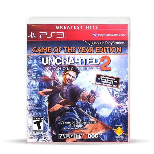 Uncharted 2 Among Thieves Goty Ed Ps3 Físico, Macrotec