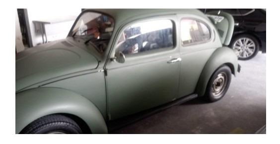 Fusca 1600 Verde R$ 7 Mil Motor Novo