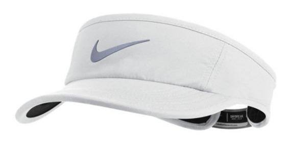 Viseira Nike Aw84 Dri-fit (original) Branca #sol #praia #fit