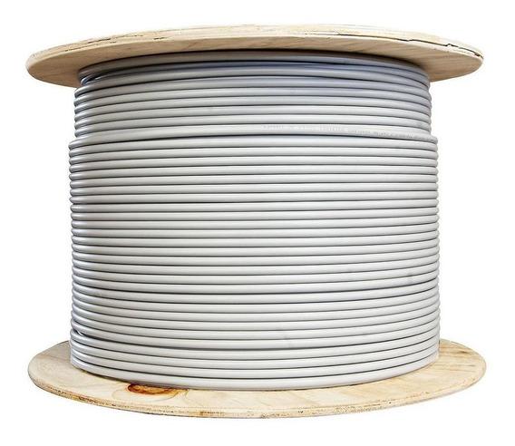 Cable Pot Duplex Cal 10 Blanco 500m Antiflama 100% Cobre Cdc