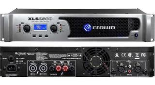 Amplificador Potencia Digital Crown Xls2500 - 2400w Rms Prof