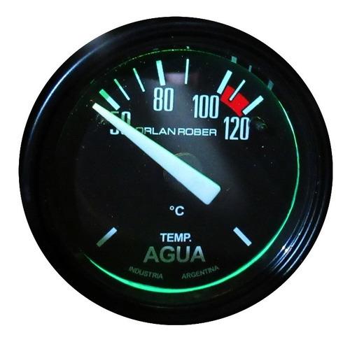 Imagen 1 de 5 de Reloj Orlan Rober Temperatura De Agua Eléctrico 52mm 12v