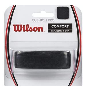 Grip Wilson Cushion Pro Empuñadura Raqueta De Tenis Negro