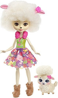 Enchantimals Lorna Lamb Doll And Flag