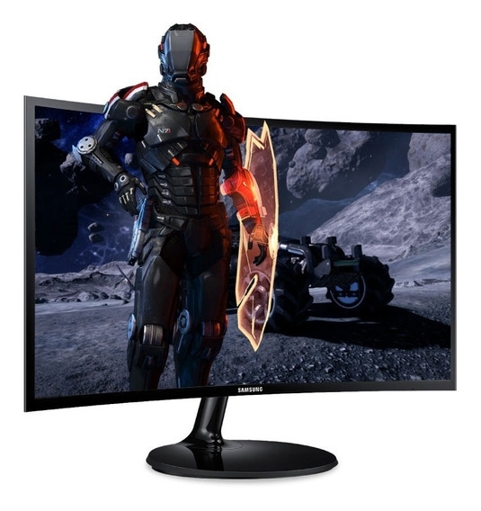 Monitor Curvo Gamer 27 Samsung F390 Full Hd 4ms Hdmi 12c