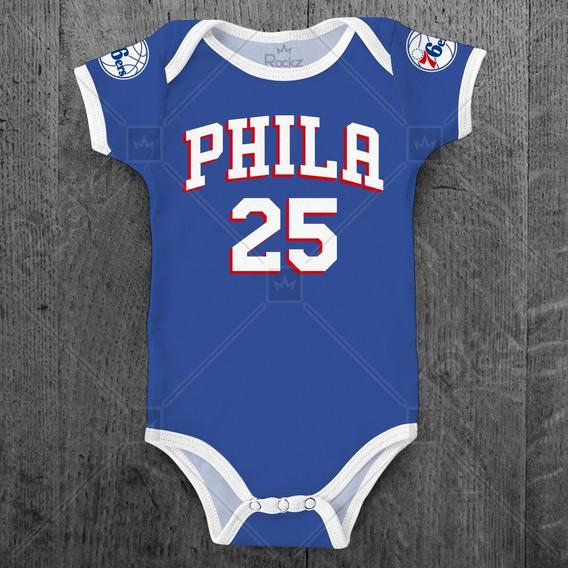 Body Philadelphia 76ers Sixers Nba Basquete Personalizado