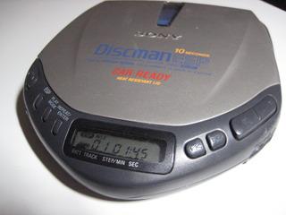 Sony Discman Car Ready Esp D-e307ck