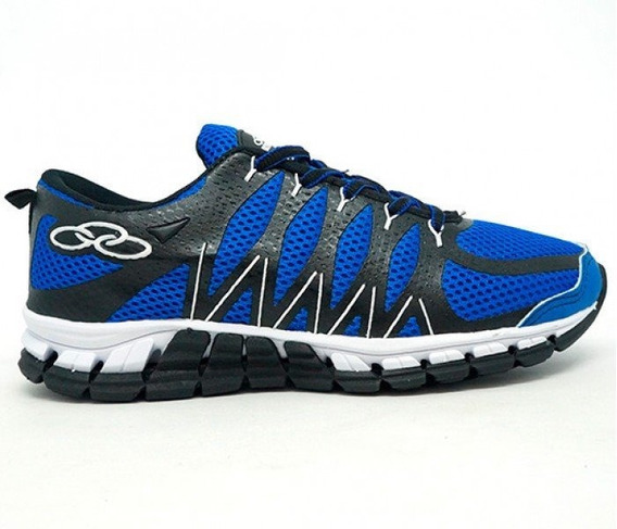 Tênis Olympikus Style Azul E Preto Frete Grátis