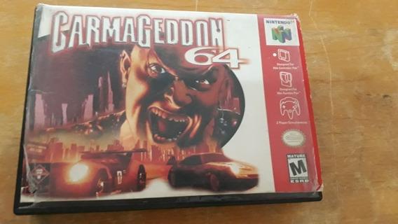Carmageddon 64 -nintendo 64 Original Com Caixa