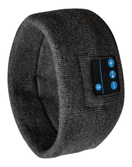 Máscara De Dormir C/ Fone Bluetooth S/fio Cinza