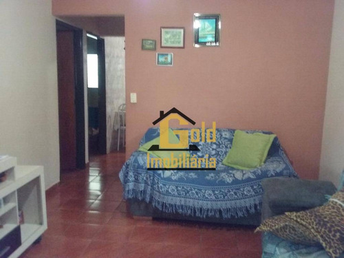 Casa Residencial Com 3 Dormitórios (1 Suíte) No Bairro Florestan Fernandes Em Ribeirão Preto - Ca0117