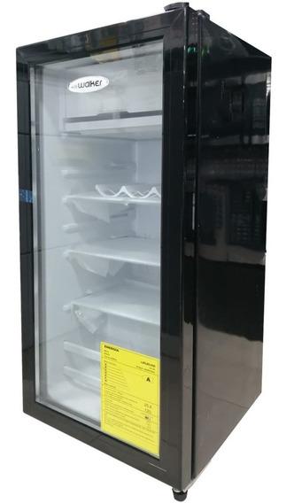 Walker Vitrina Exhibidora Mini Nevera Refrigeradora 120 Lt