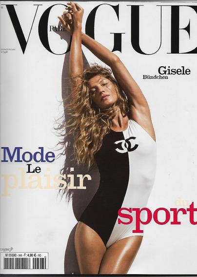 Vogue Paris 2019 Gisele Bundchen Frete Grátis