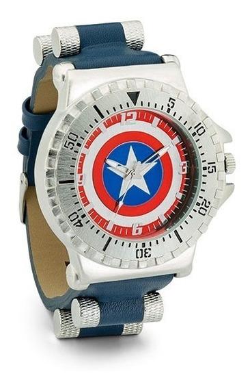 Reloj Hombre Capitán América Avengers Original Marvel