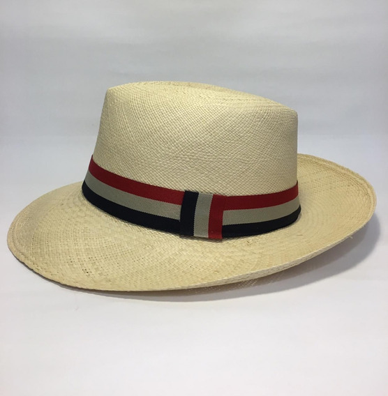 Panama Hat Sombrero Ecuatoriano De Paja Toquilla Talla Xl