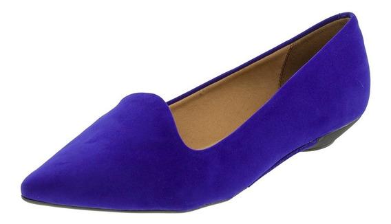 Sapatilha Feminina Bico Fino Azul Vizzano - 1131429
