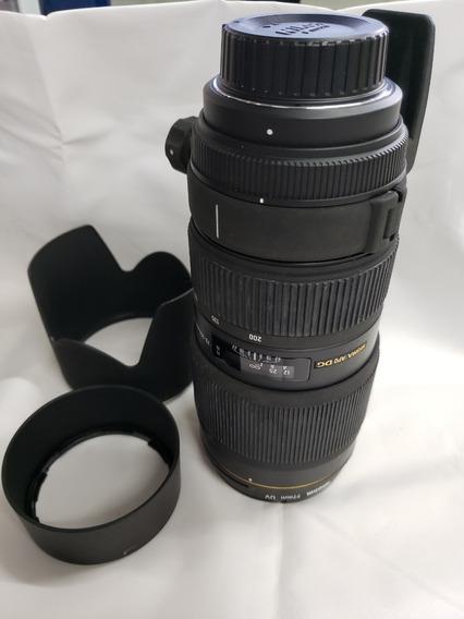 Lente Sigma 70-200mm F/2.8 Ii Apo Ex Dg Macro