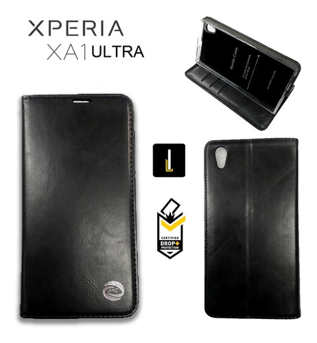 Funda Flip Cover Parante Sony Xperia Xa1 Ultra Estuche