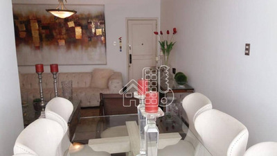 Apartamento Residencial 3 Quartos À Venda, Icaraí, Niterói. - Ap2162