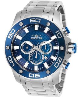 Reloj 26075 Pro Diver Hombres Invicta Cronografo De Cuarzo