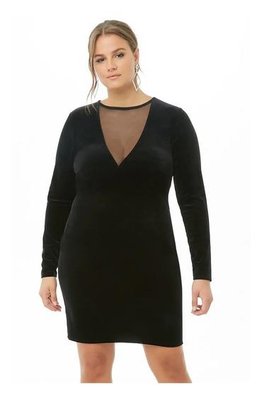 Vestido De Fiesta By Forever 21 Plus Size