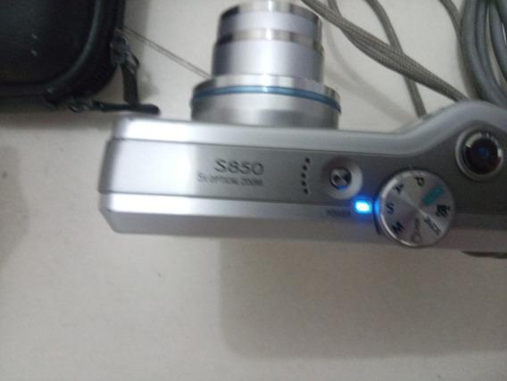 Câmera Samsung S850 8.1 Megapixels Leia A Descrição