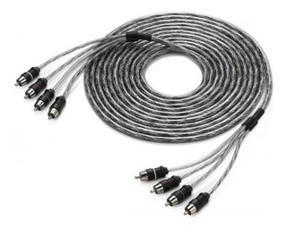Cable Rca Jl Audio Xd-clraic4-18 Para 4 Canales 18ft 5.5 M