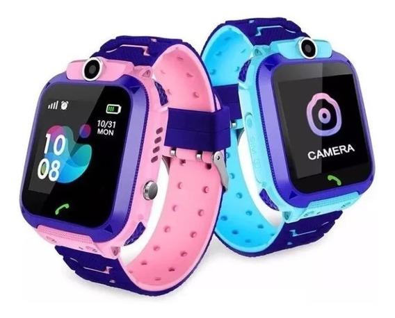 Smartwatch Infantil Localizador Gps E Botão Sos- Smartwa