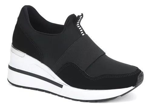 Tênis Feminino Sneaker Anabela Via Marte 3301 Frete Grátis