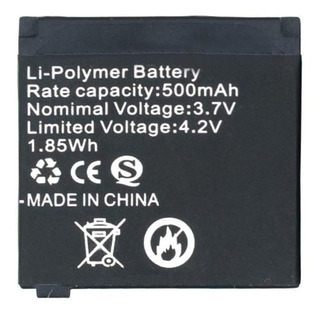 Bateria Reloj Inteligente Smartwatch Q18 500mah Litio 3.7v