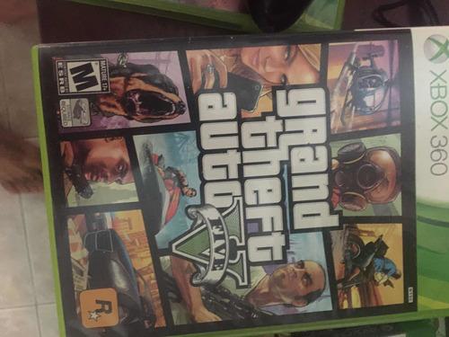 Grand Theft Auto V Gta 5 Juego Cinta Cd Videojuego Xbox 360