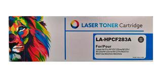 Combo Toner Láser Cartucho Alternativo La-hpcf283a X 5 Unid.