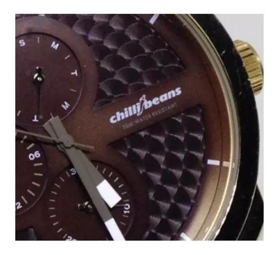 Relógio De Pulso Chilli Beans Masculino U02610 Webclock