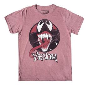 Playera Mascara De Latex Venom 2hombre