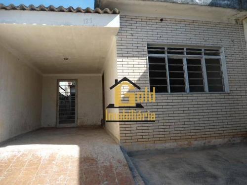 Casa Com 2 Dormitórios À Venda, 107 M² Por R$ 250.000,00 - Ipiranga - Ribeirão Preto/sp - Ca0516