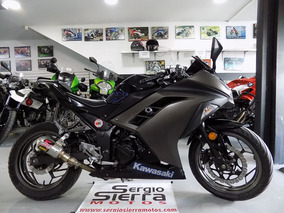Kawasaki Ninja300 Negra 2016