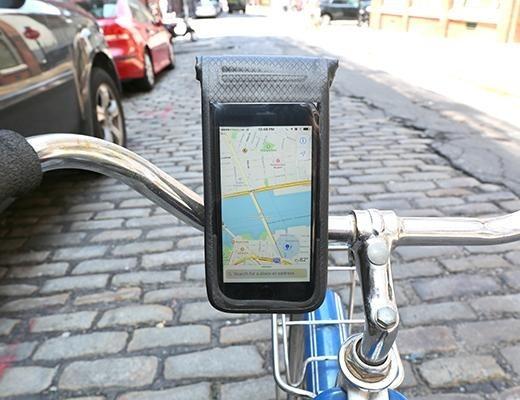 Soporte Celular Bici Impermeable Teléfono Funda Kikkerland