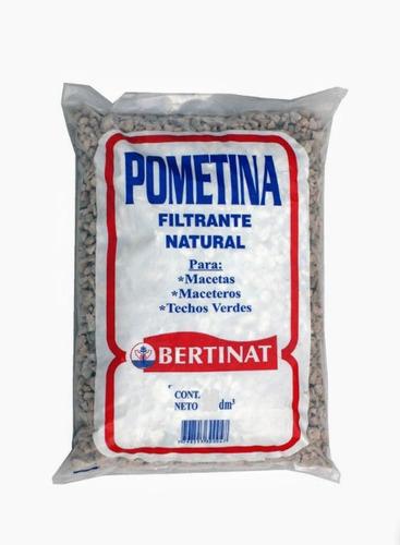 Piedra Pometina Bertinat 25 Dm3 Cultivo Hidroponia