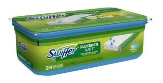 2 Pack Swiffer Sweeper Wet Recargas Mojadas 24