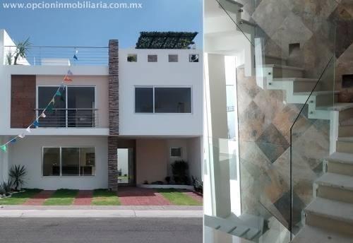 Hermosa Y Moderna Casa En El Mirador, Con Acabados De Lujo Y