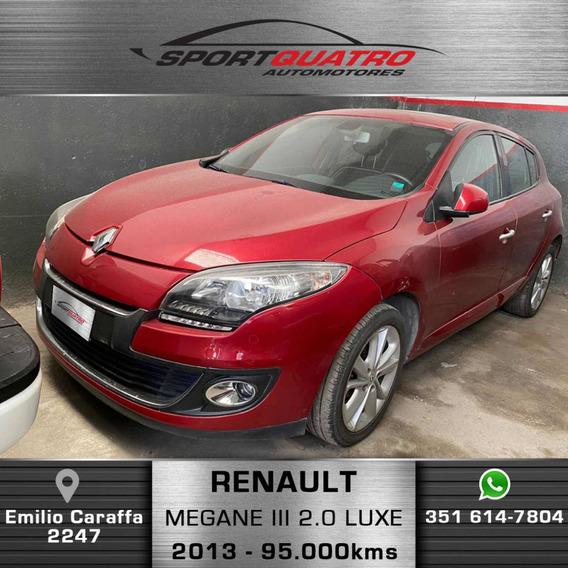 Renault Mégane Iii 2.0 Luxe Ph2 2013