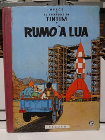 Gibi As Aventuras De Tintim Rumo À Lua Hergé